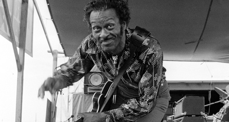Chuck Berry for Showcase Page
